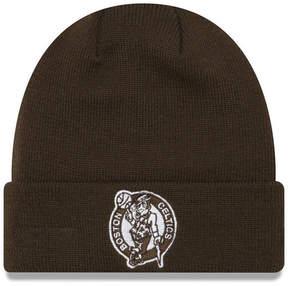 New Era Boston Celtics Fall Time Cuff Knit Hat