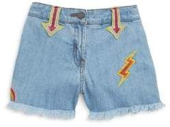 Stella McCartney Toddler's, Little Girl's& Big Girl's Marlin Cutoff Denim Shorts