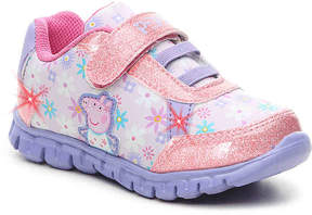 Peppa Pig Girls Toddler Light-Up Sneaker