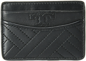 Tory Burch Alexa Slim Card Case - BLACK - STYLE