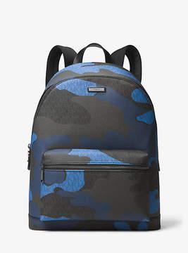 Michael Kors Jet Set Logo And Camouflage Backpack