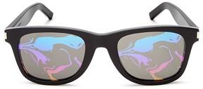 Saint Laurent SL 51 Rectangle Sunglasses, 50mm