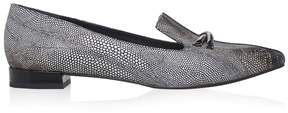 Emporio Armani Two-toned Point Toe Flats