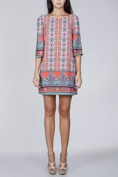 Ark & Co Coral Printed Dress
