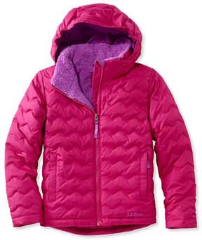 L.L. Bean Girls' L.L.Bean Fleece-Lined Down Jacket