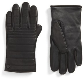 Canada Goose Men's Quilted Leather Gloves
