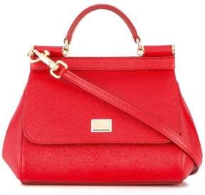 Dolce & Gabbana mini Sicily shoulder bag - RED - STYLE