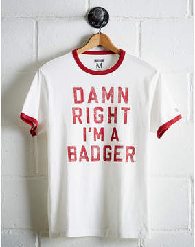 Tailgate Men's Wisconsin Ringer T-Shirt