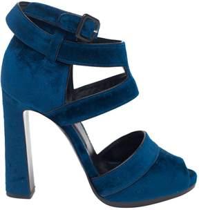 Hermes Velvet heels