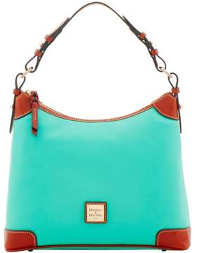 Dooney & Bourke Pebble Grain Hobo Shoulder Bag - JADE - STYLE