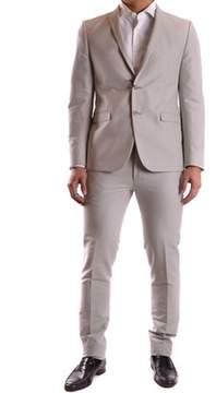 Corneliani Men's Grey Cotton Suit.