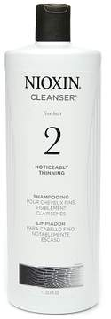 Nioxin Cleanser for Fine Hair, System 2: Noticeably Thinning