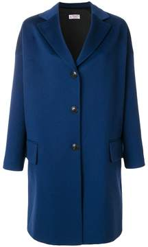 Alberto Biani oversized single-breasted coat