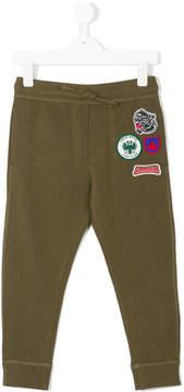 DSQUARED2 patch-appliqué sweatpants