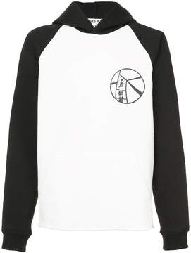 Enfants Riches Deprimes illustrated chest and back detail hoodie