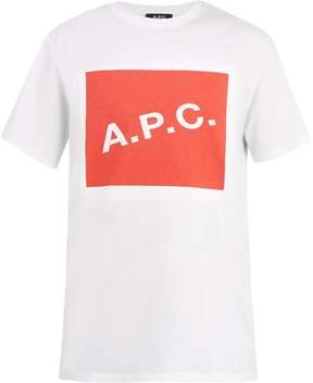 A.P.C. Kraft logo graphic cotton T-shirt