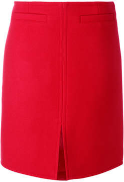 Courreges front slit skirt