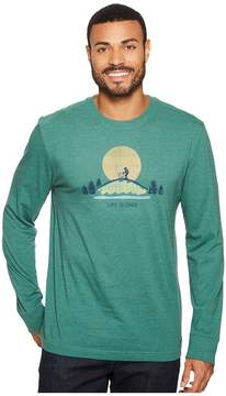 Life is Good Hike Vista Long Sleeve Crusher Tee Men's Long Sleeve Pullover