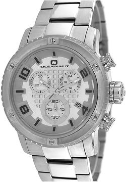 Oceanaut Mens Impulse Stainless Steel Chronograph Watch