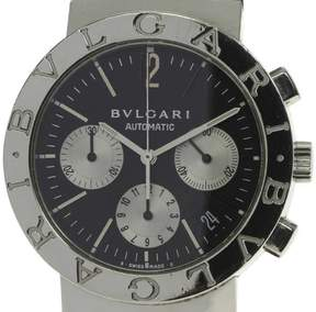 Bulgari BB38SSCH Stainless Steel Automatic Chronograph 38mm Mens Wrist Watch