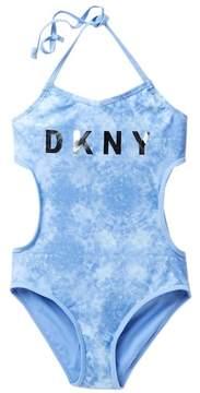DKNY One Piece Swimsuit (Big Girls)