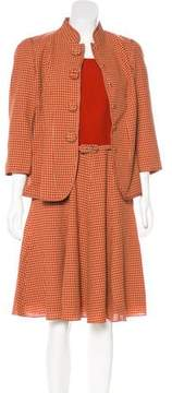 Andrew Gn Houndstooth Dress Set w/ Tags