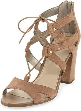 Sam Edelman Emilia Micro-Suede Lace-Up Sandal