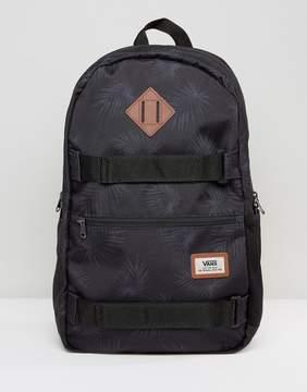 Vans Authentic III Skate Backpack In Palm Print