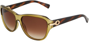 Christian Dior My Miss Plastic Square Sunglasses