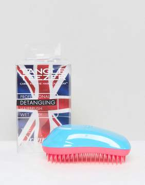 Tangle Teezer Professional Detangling Brush Blue & Pink