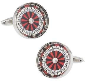 Bed Bath & Beyond Roulette Wheel Cufflinks