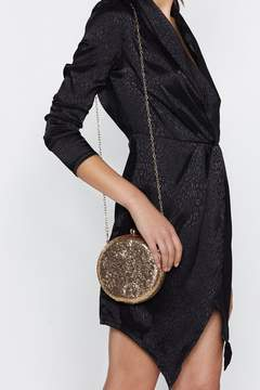 Nasty Gal WANT Mystic Ball Glitter Crossbody Bag