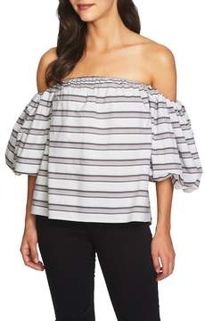 1 STATE 1.State Off-the-Shoulder Puff Sleeve Top