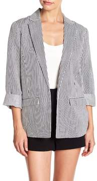Cupcakes And Cashmere Dove Striped Blazer