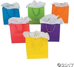 Express Fun Medium Neon Gift Bags