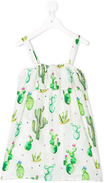 MC2 Saint Barth Kids cactus print dress