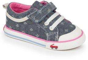 See Kai Run Girls' Kristin Canvas Hook & Loop Sneakers