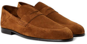 Harry's of London Edward Collapsible-Heel Suede Loafers