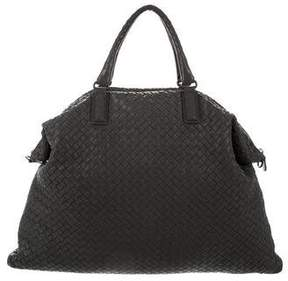 Bottega Veneta Convertible Intrecciato Leather Bag