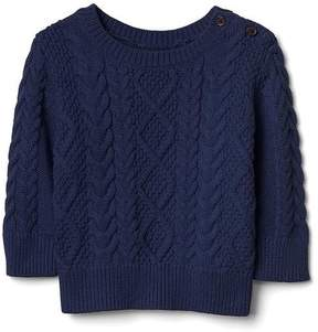 Gap Cable-knit button sweater