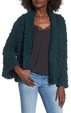 BP Women's Fluffy Knit Cardigan