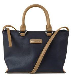 Nautica Banyan Blossom Convertible Satchel Bag