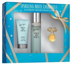 Elizabeth Taylor Sparkling White Diamonds by Women's Fragrance Gift Set - 3pc