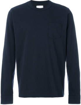 Sacai classic long sleeved T-shirt