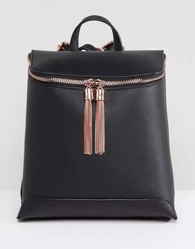 Asos DESIGN tassel backpack