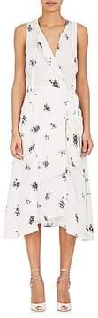 A.L.C. Women's Zayn Silk Wrap Midi-Dress