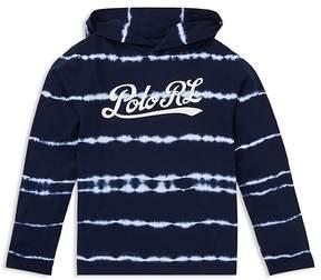 Polo Ralph Lauren Boys' Hooded Tie-Dyed Jersey Tee - Big Kid
