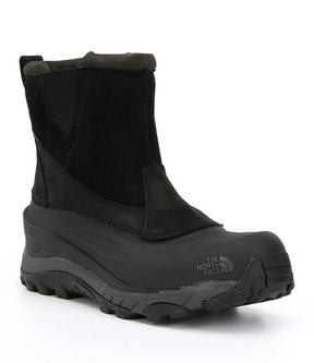 The North Face Mens Chilkat III Pull-on Waterproof Cold Weather Mid Boots