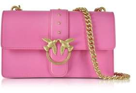 Pinko Women's Fuchsia Pvc Shoulder Bag.