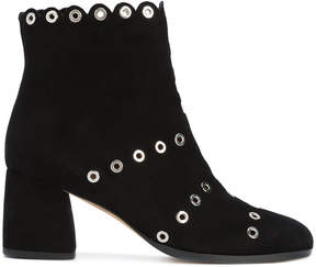 Alexa Wagner studded ankle boots
